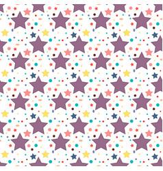 birthday party celebratory seamless pattern vector image