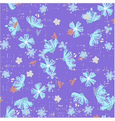 cute abstract seamless pattern with small colorful vector image