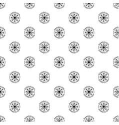 delicate dandelion pattern seamless vector image
