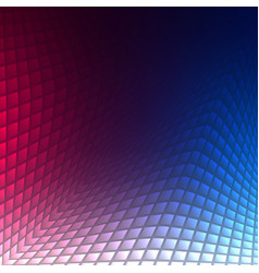 geometric technology background with gear shape vector image