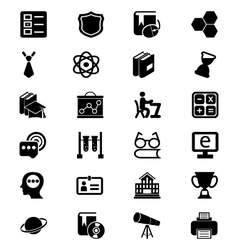 School and Education Icons 3 vector