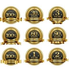 Set 100 guarantee golden labels vector