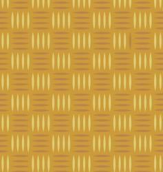 wicker pattern vector image