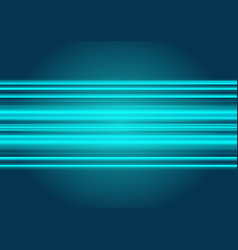 abstract blue light technology background vector image