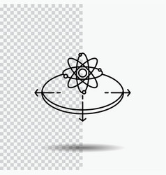business concept idea innovation light line icon vector image