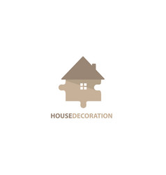 House decoration logo vector
