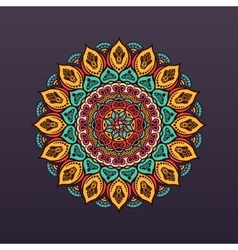 Mandala Vintage decorative elements background vector