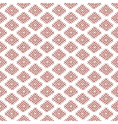 Russian ethnic regular seamless pattern vector
