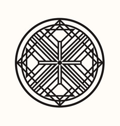 Sacred geometry 0141 vector