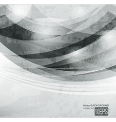 Abstract dark shape design concept vector image