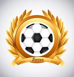 sport emblem vector image