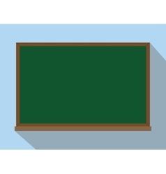 green board chalkboard isolated reuse and reusable vector image