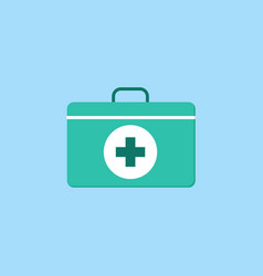 first aid box flat icon vector image