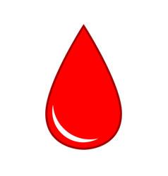 Drop blood medical icon virus health vector