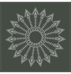 geometric hipster circle 617547165 vector image