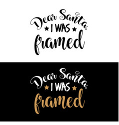 Hand lettering christmas quote vector
