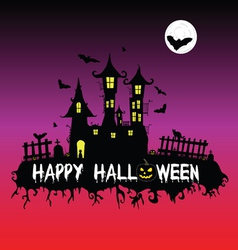 Happy halloween part one vector
