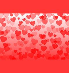 heart confetti vector image