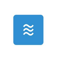 hydro symbol icon vector image
