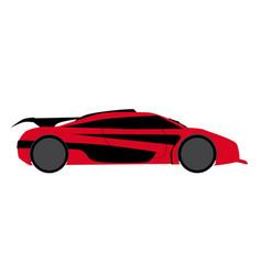 Modern fast car vector