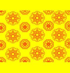 Pattern yellow vector