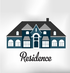 Residence vector image