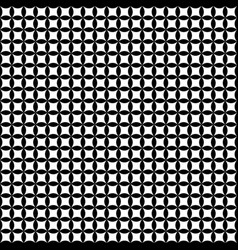 Seamless abstract black and white pattern vector