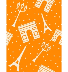 paris - abstract seamless background vector image vector image