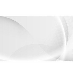 abstract white modern with futuristic concept vector image