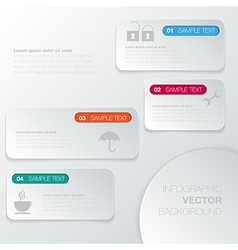 Design number banners template graphic or website vector image