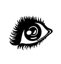 hand drawn fashion icon vector image