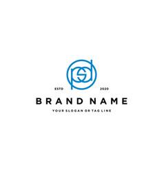 Letter psd logo design vector