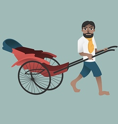 Rickshawman preview vector