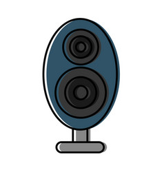 sound speaker icon vector image