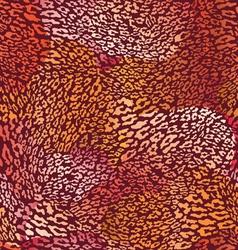 hot animal seamless skin vector image vector image