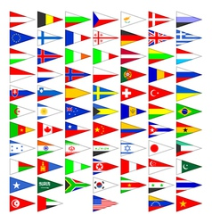 Flags of the countries of the world vector image