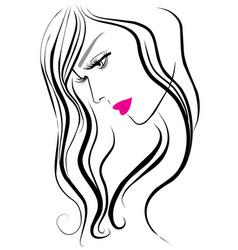 makeup icon vector image vector image