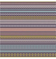 Seamless tribal texture Vintage ethnic tribal vector image