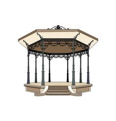 Bandstand 1900 vector