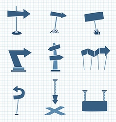 Cartoon Arrows vector