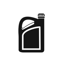 Jerrycan icon simple style vector