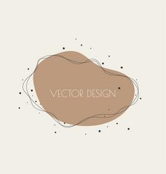 liquid organic color form vector image