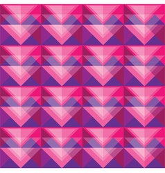 Seamless berry triangle pattern design vector