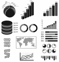 material symbols infographics vector image