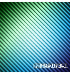 abstract shiny background carbon pattern vector image