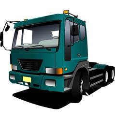 al 0342 truck vector image