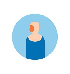 arabic woman profile avatar icon arab vector image