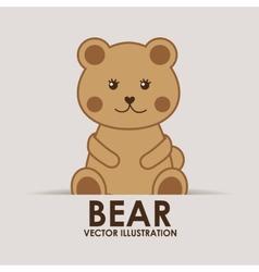bear teddy vector image