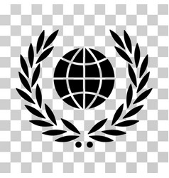 global emblem icon vector image