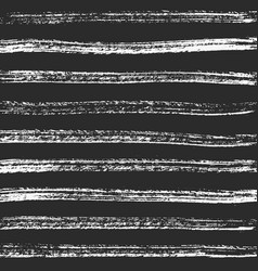 horizontal charcoal lines hand-crafted vector image